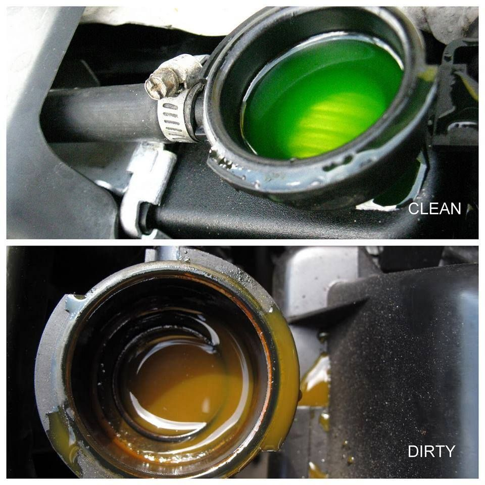 Your Car Coolant Is The Fluid That Absorbs Heat From The Engine