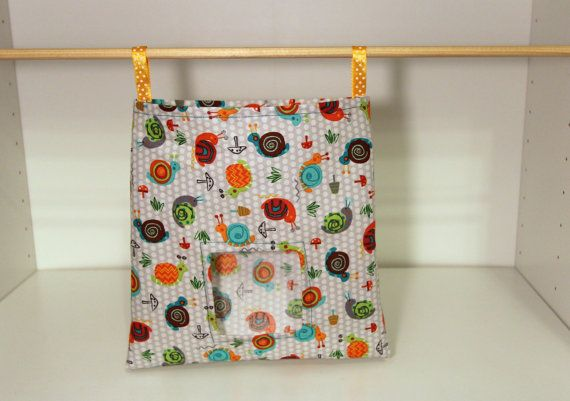 Bunny Hay Sack Guinea Pig Feeder Bag  Snails by SewingInCZ on Etsy