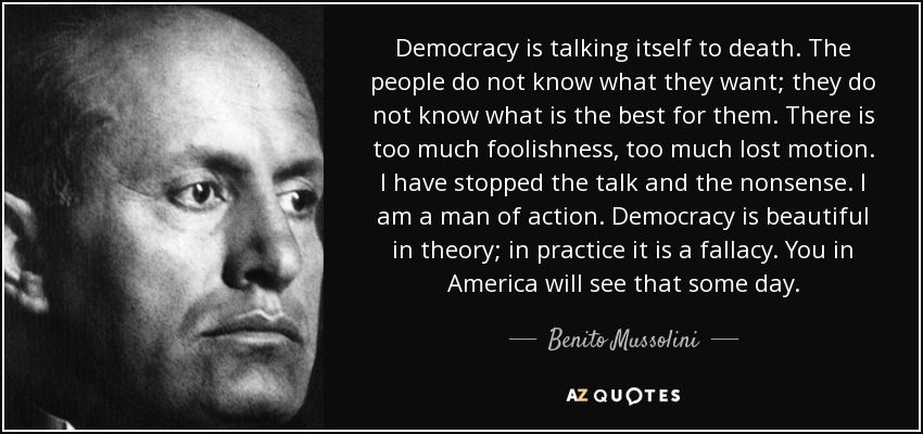 Mussolini Quotes Top 25 Quotesbenito Mussolini Of 128  Az Quotes  Welcome To .