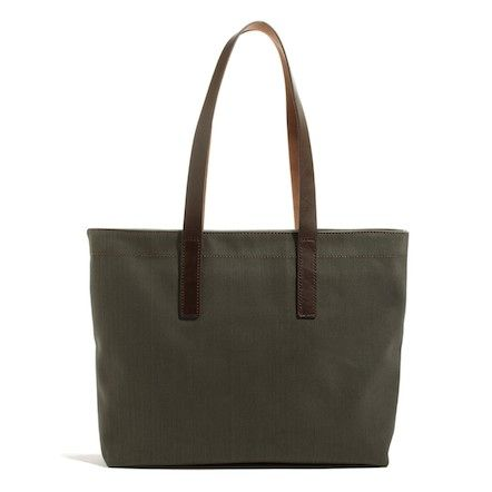 c7e6560319 The Twill Zip Tote - Everlane - A birthday gift to myself  I think ...