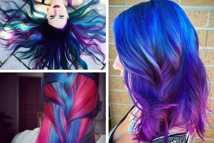 1000 images about coloration des cheveux on pinterest hair contouring glitter roots and grey - Coloration Permanente Violet