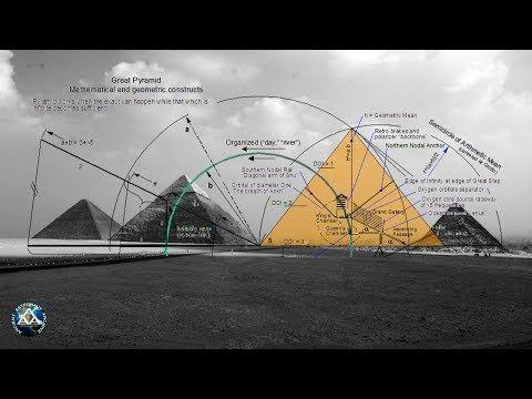 Great Pyramid Mathematical Secrets Youtube Pyramids The