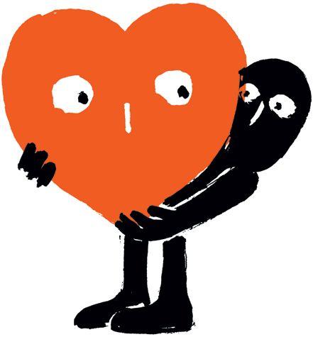 Orange  Black - Nishant Choksi.  Artists on tumblr