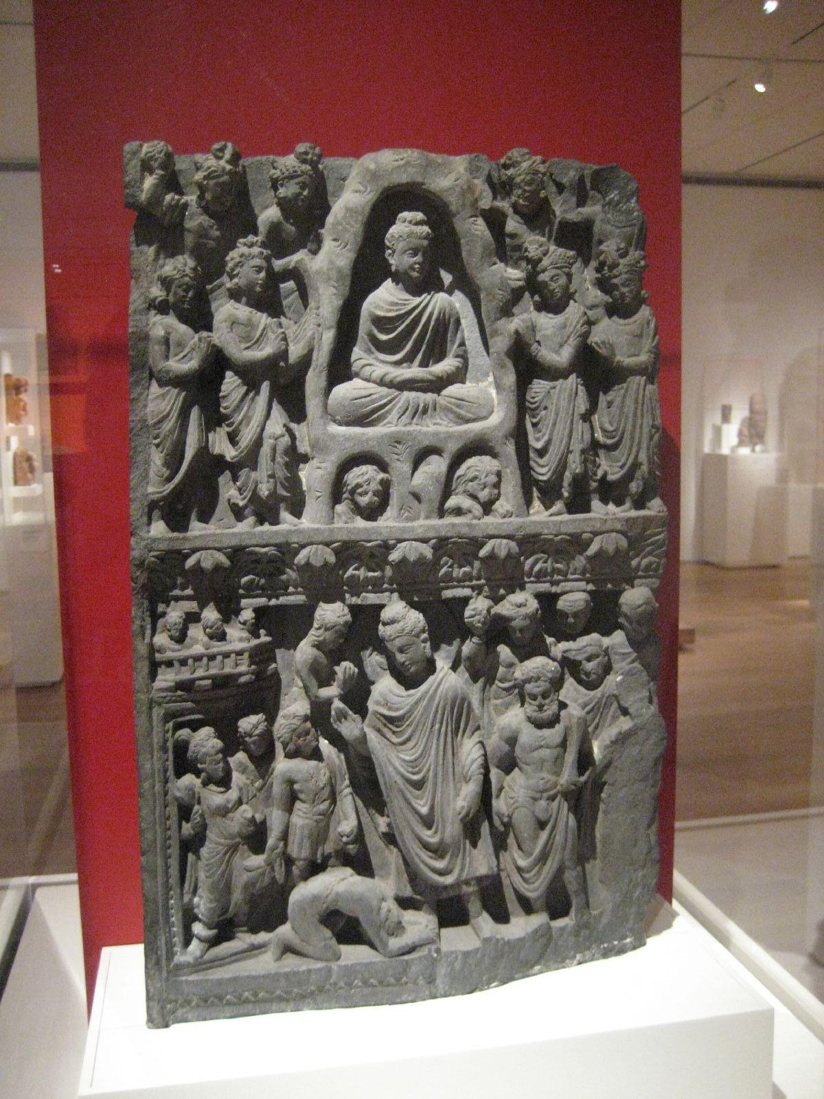Sumedha and Dipankara Buddha