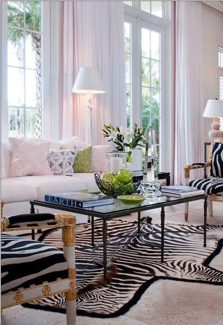 Luxury Home Design Jerry Rabinowitz Pho Charisma Design Zebra Living Room Living Room Decor Home Living Room