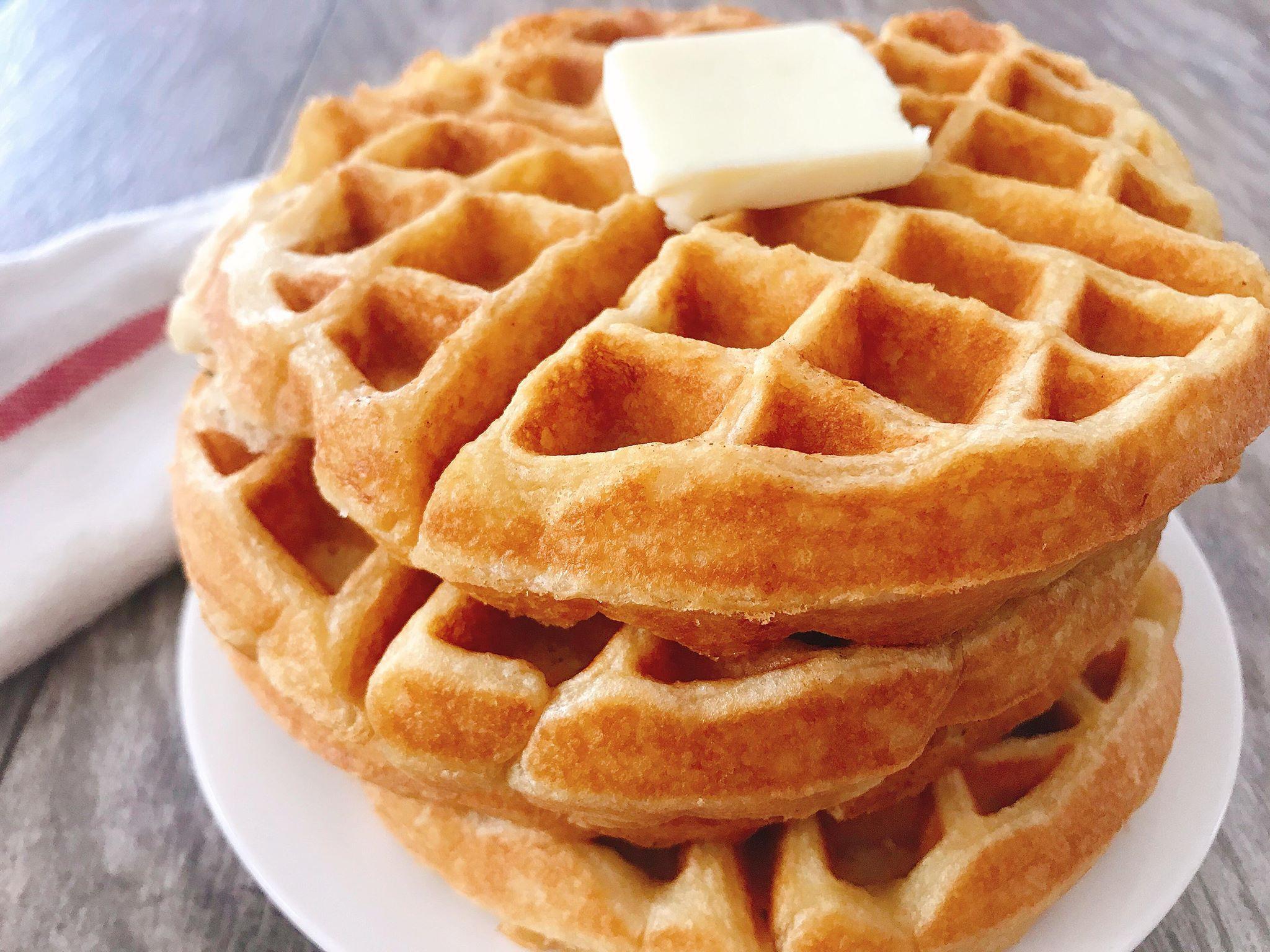 Sweet Cream Waffles Recipe Sweet Cream Waffle Recipe Malted Waffle Recipe Waffle Recipes