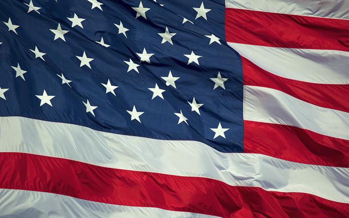 Download Wallpapers Usa Flag 4k American Flag Fabric Flag Of Usa North America Us Flag Usa America National Symbols Flag Of America Usa National Flag America Flag Wallpaper American Flag Wallpaper