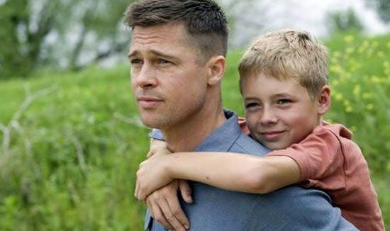 Brad Pitt Gives Sean Penn Daddy Issues In The Tree Of Life Trailer Brad Pitt Military Haircut Tree Of Life