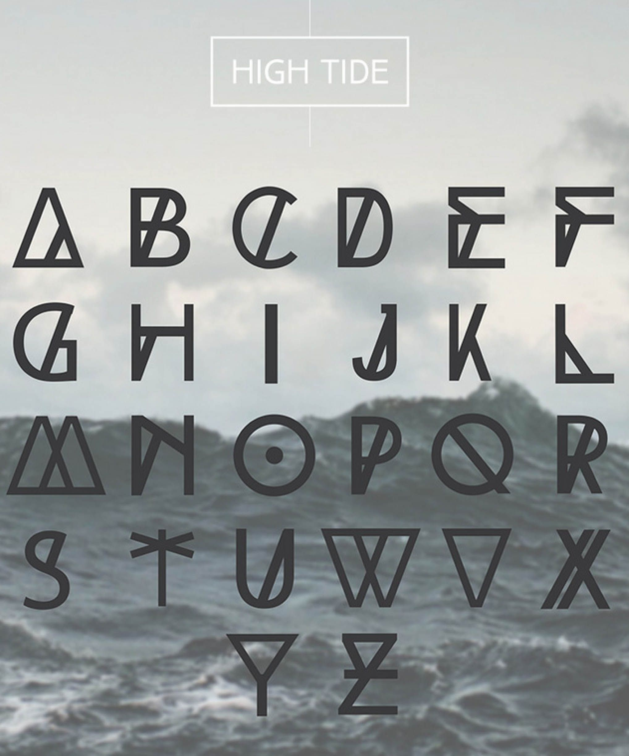 High Tide | inked  | Writing fonts, Typography fonts, Free fonts for