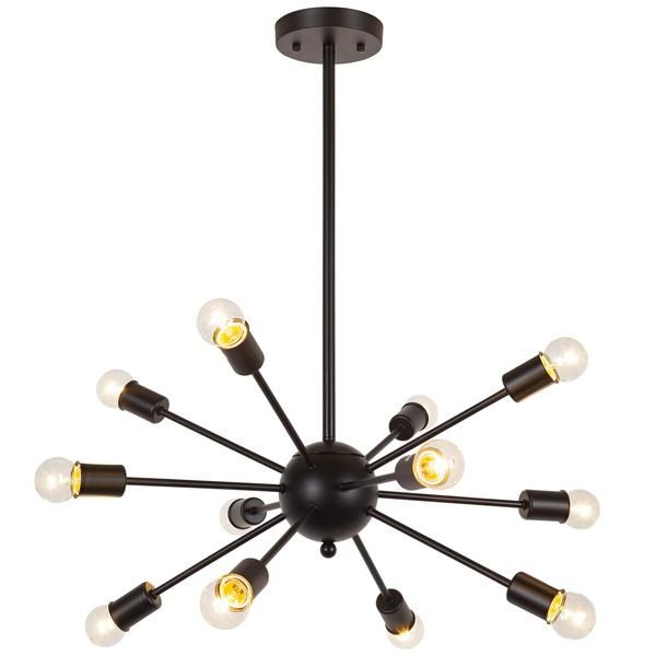 Your Modern Living Space Will Rank Tops In The Galaxy With Edgy Appeal Of This Meridia Sputnik Style Chandelier A Inspired Design And