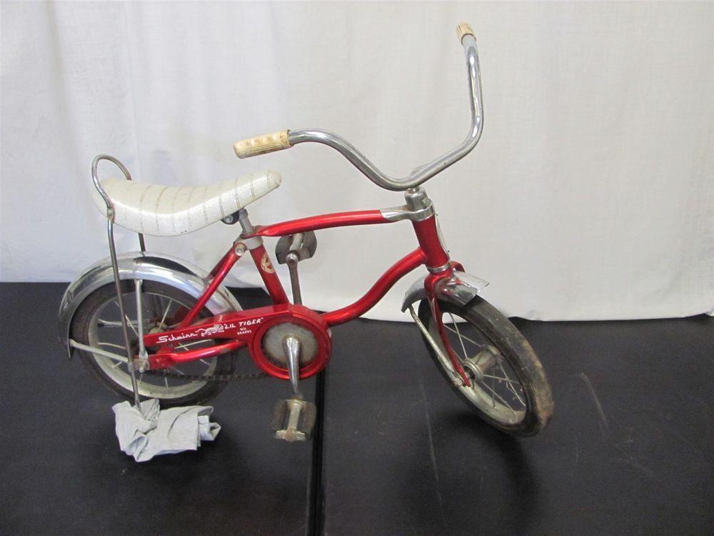 Schwinn Lil Tiger Bicycle Childs Kids Vintage Banana Seat