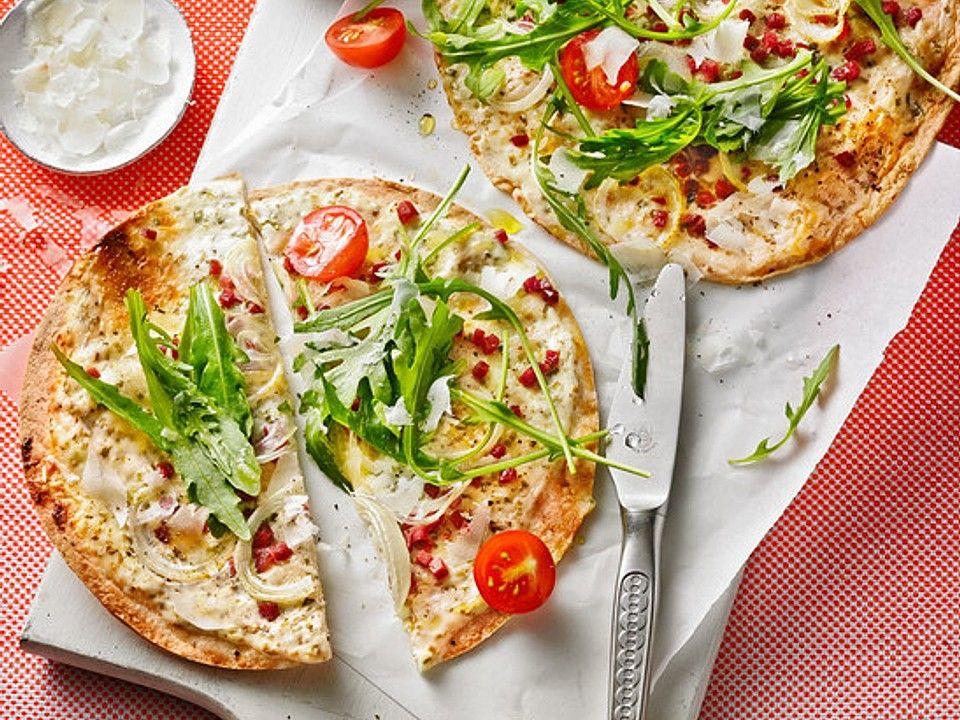 Flammkuchen mit Tortilla-Wrap von AhoiAhoi | Chefkoch