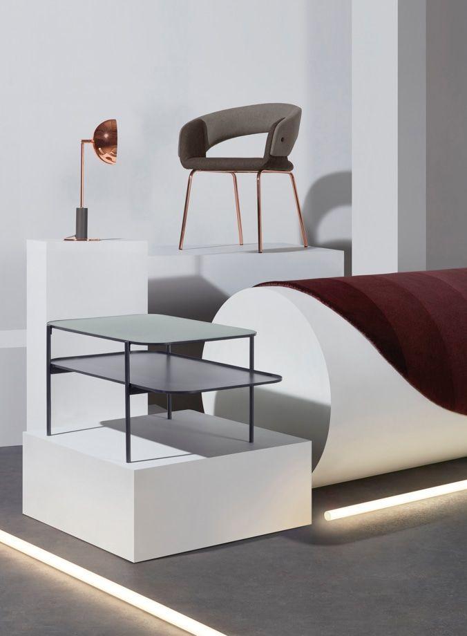 Made Lampenschirm Kupfer Bedside Table Design Sofa Design Small Sofa