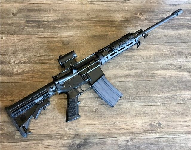 Bushmaster XM15-E2S Entry level AR-15 from one of the more