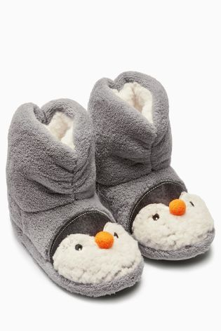 Buy Penguin Boot Slippers (Younger Boys) from the Next UK online ...