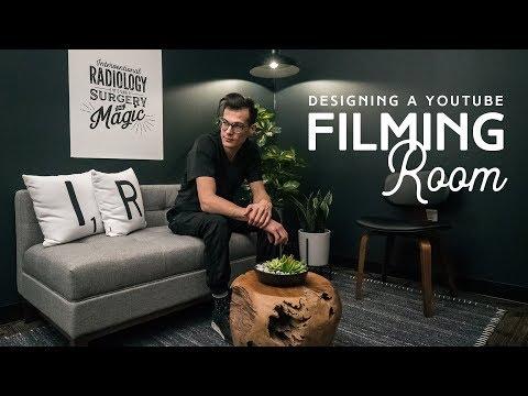 How To Design A Youtube Filming Room Youtube Home Studio Setup Music Studio Room Recording Studio Design