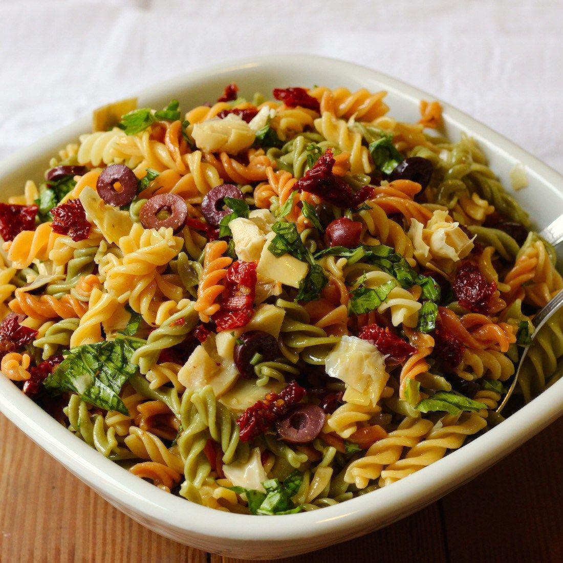 recipe: marinated artichoke hearts pasta [20]