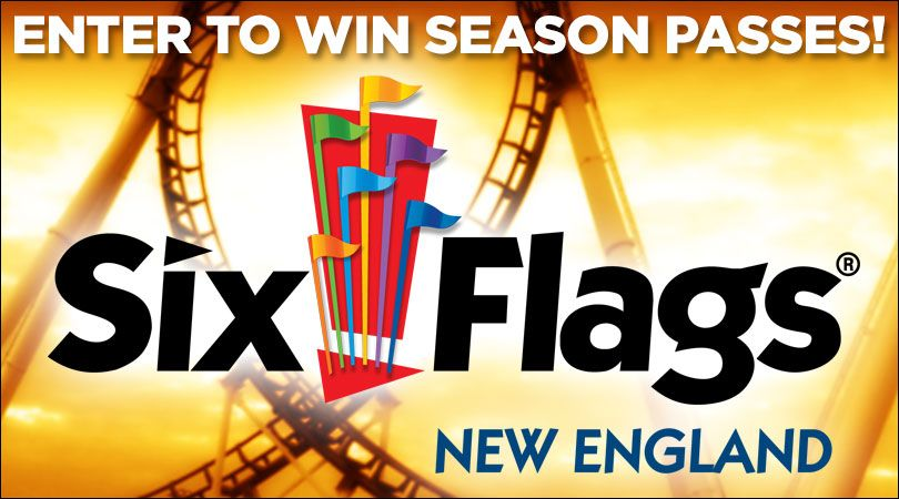 Now Is Your Chance To Enter To Win 2 Six Flags New England Season Passes And Even A Season Parking Pass Six Flags Seasons Enter To Win