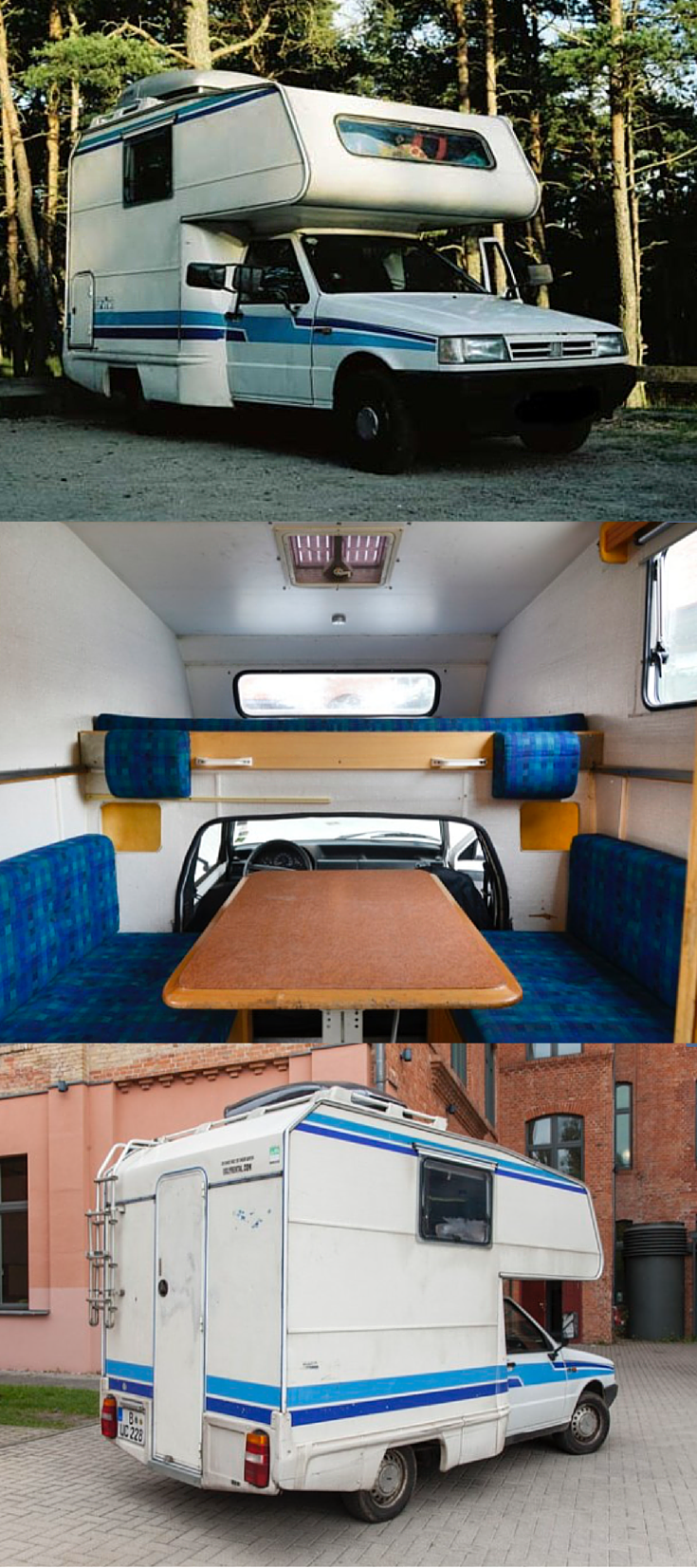 Seltenes Kultwohnmobil Fiat Fiorino Top Viva – Die mobile Zeitreise ...