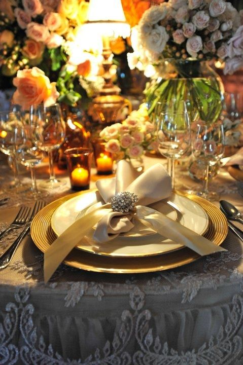 Gorgeous Garden Party With Lzf Lamps Party Table Settings