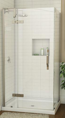 Douche en coin azure douche en coin azure acrylique - Volume d eau pour une douche ...