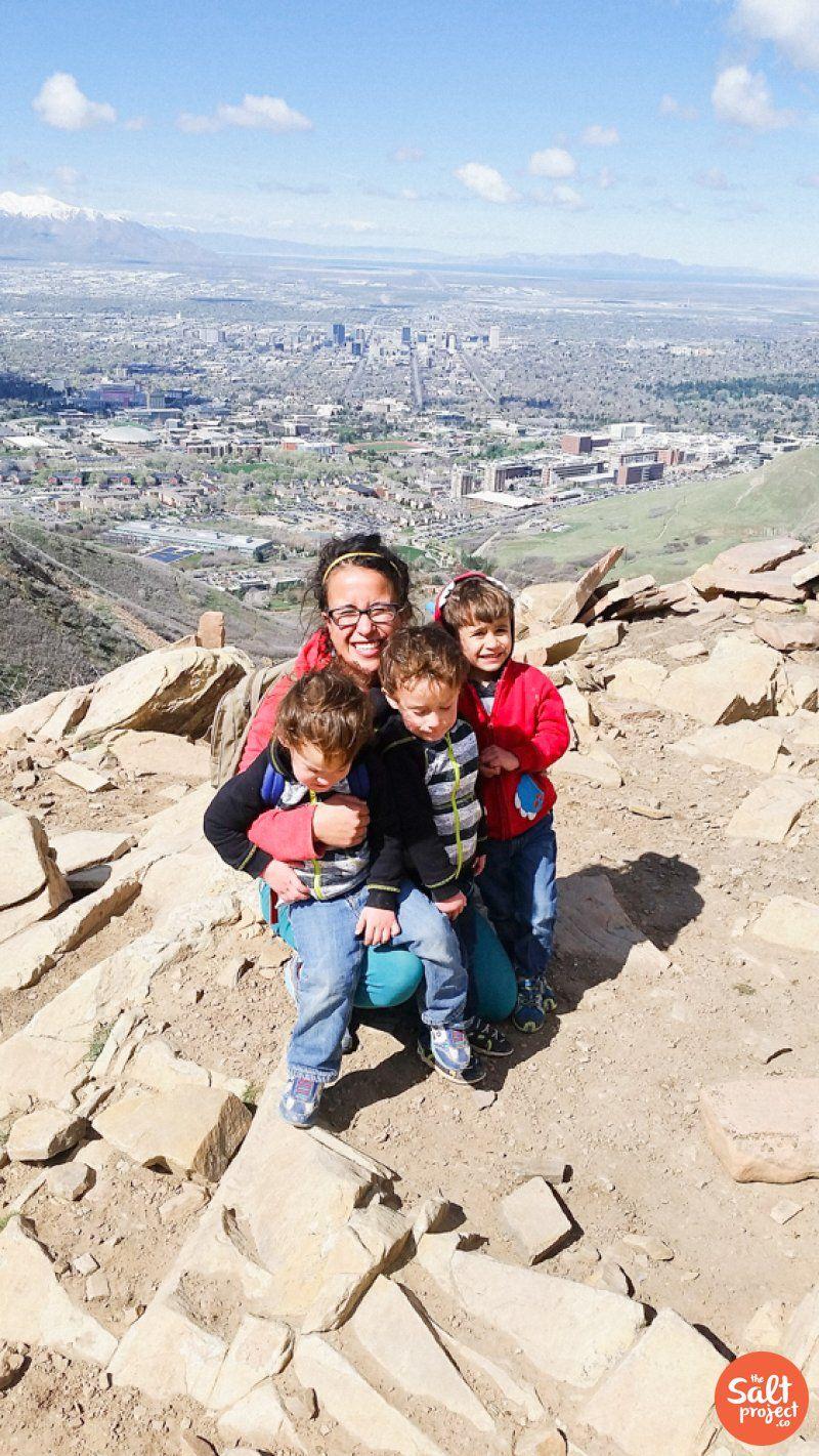 Hiking The Living Room Trail Salt Lake City The Salt Project Things To Do In Utah With Kids Hiking Lake Salt Lake City