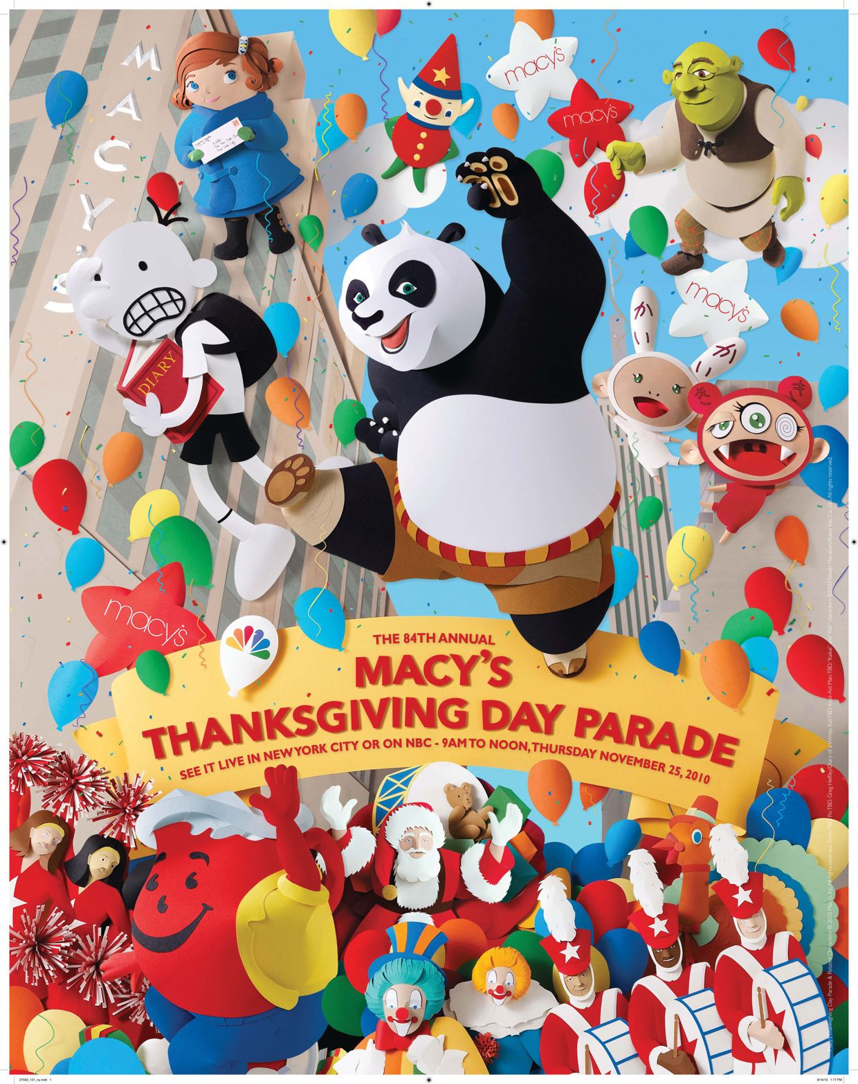Macy S Thanksgiving Day Parade Poster Image Macys Thanksgiving Parade Macy S Thanksgiving Day Parade Thanksgiving Day Parade