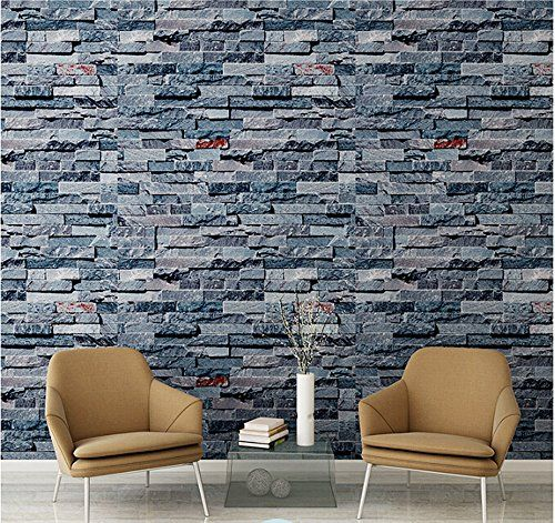 Birwall Cutral Faux Brick Stone Wallpaper 3d Kitchen Living Home Decoration Wall S Furniture Decor Faux Brick Stone Wallpaper Faux Stone Wallpaper