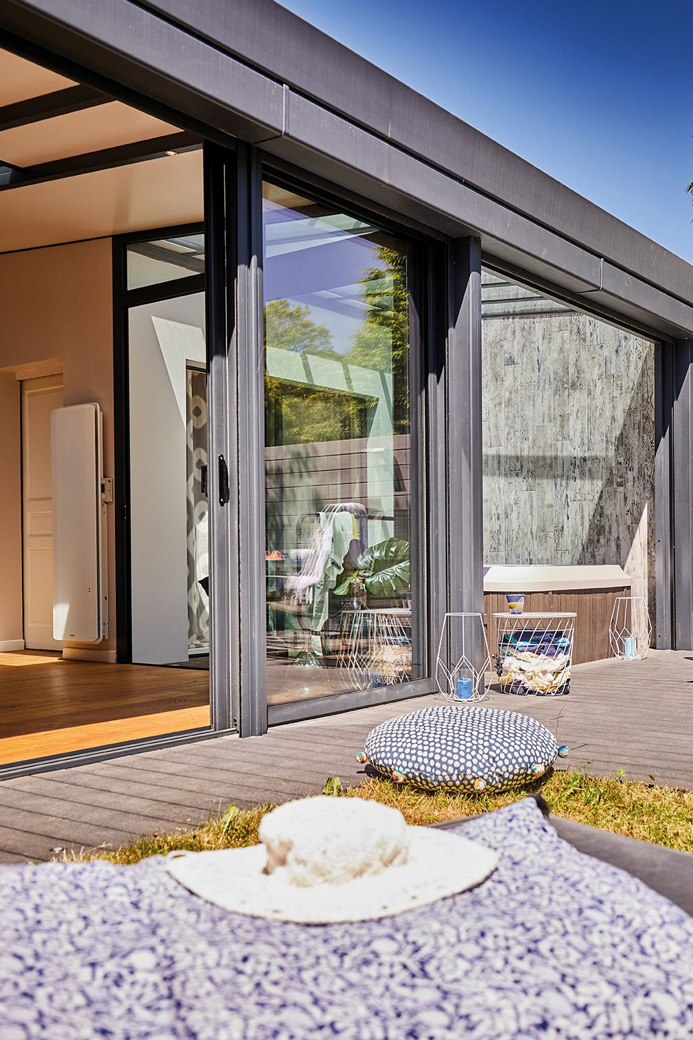 Veranda Toit Terrasse Veranda Contemporaine Modele De Veranda Veranda Alu