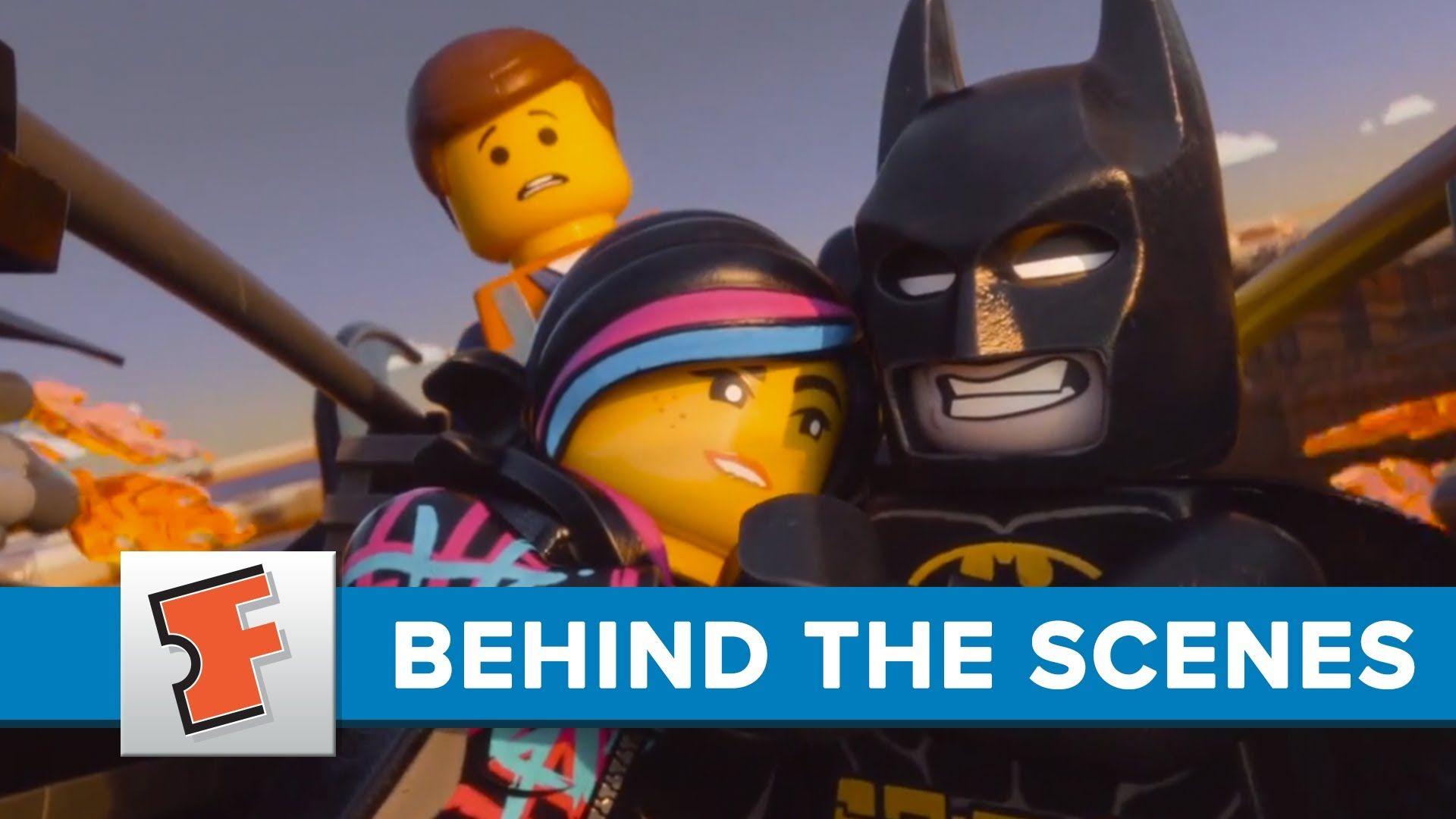 Lego Outtakes Behind the Scenes FandangoMovies Lego