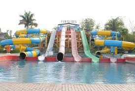 If you don't like the idea of a water park in delhi, you can look at some amusement parks that will have only dry rides.