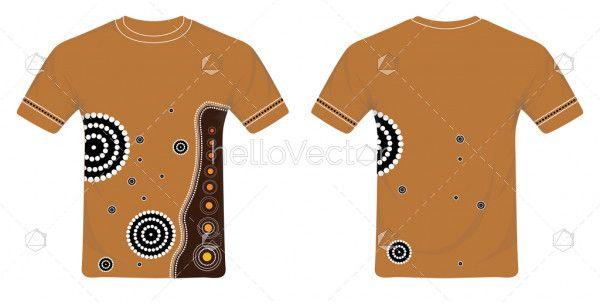 Aboriginal art  shirt design teegraphic teevector tee also graphics pinterest rh