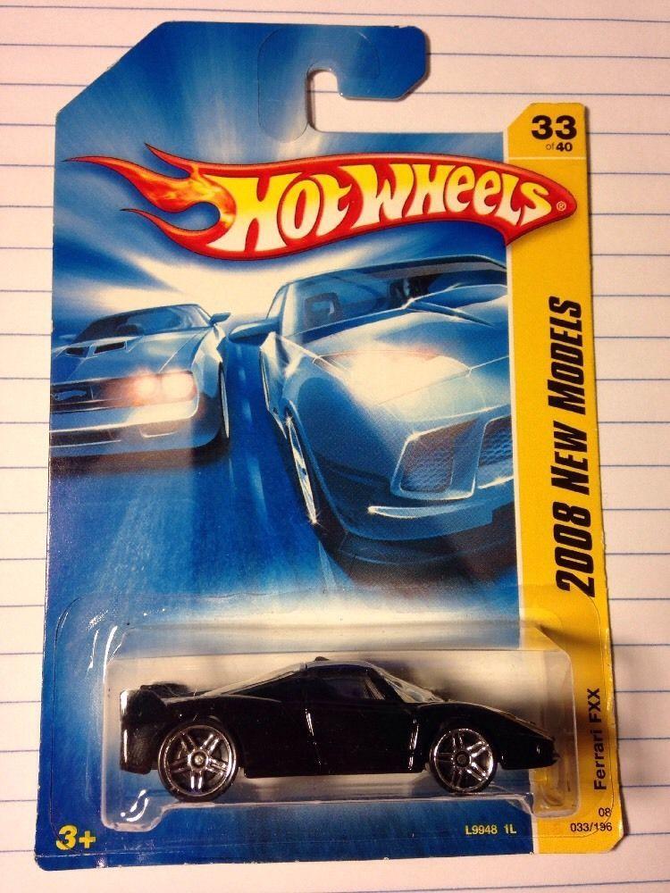 FERRARI FXX HOT WHEELS 2008 New Models Black  #HotWheels #Ferrari