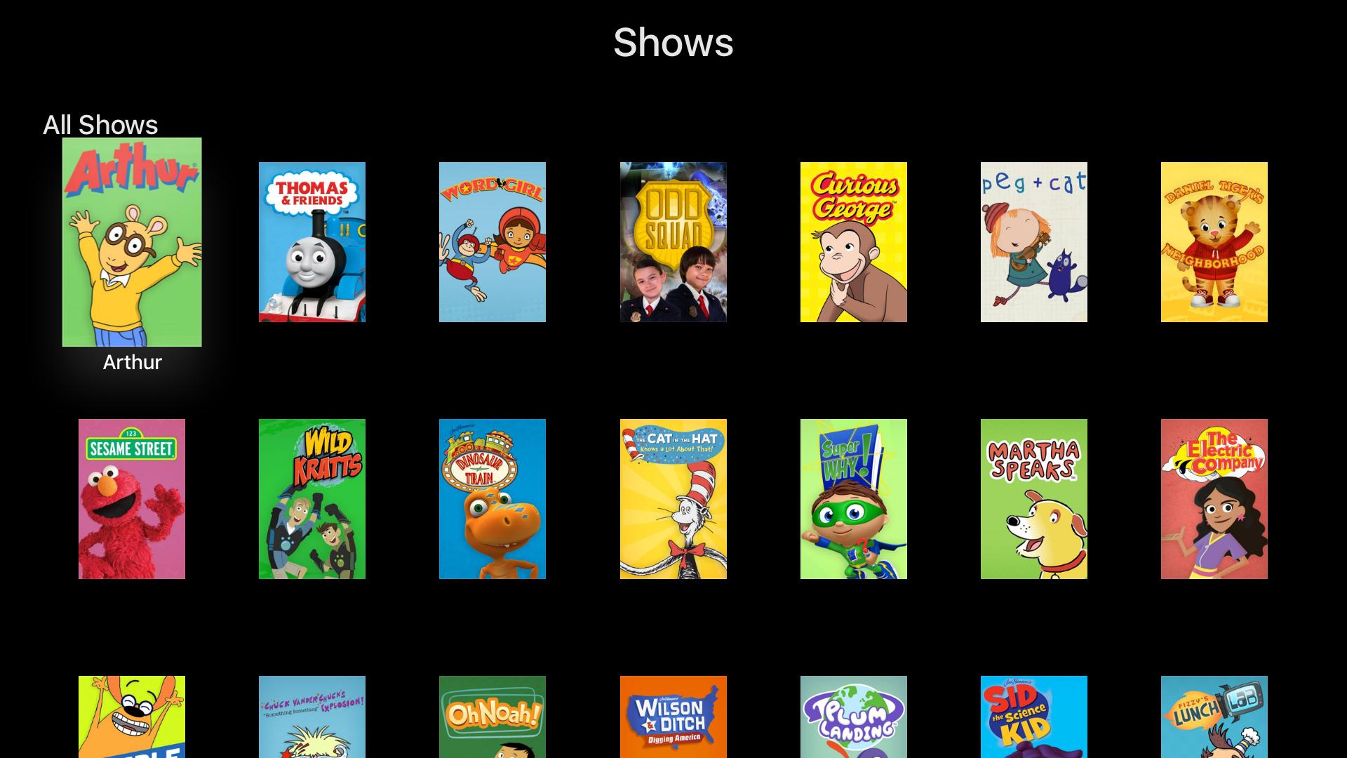 PBS KIDS Video Apps 148Apps Pbs kids videos, Pbs