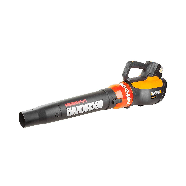 Worx Wg569e 9 40 V Body Only Brushless Cordless Air Turbine Leaf