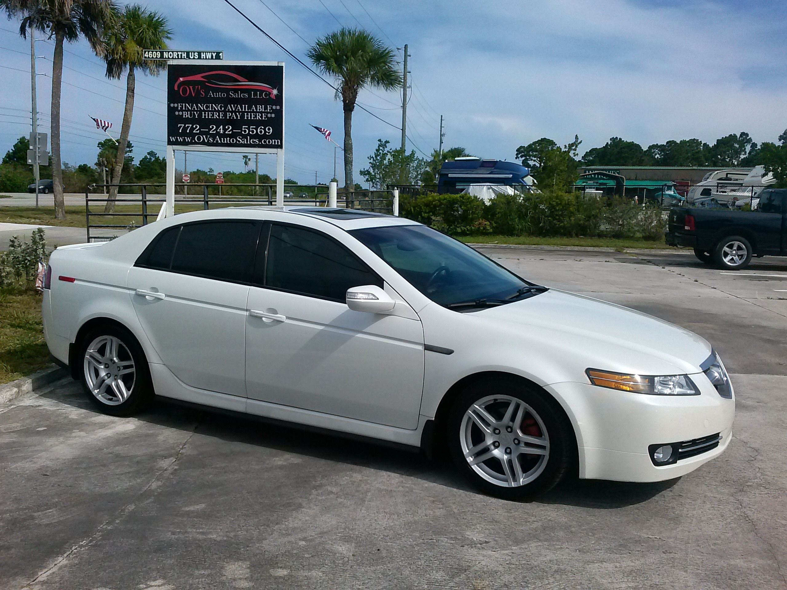 2007 Acura Tl Base Free Carfax Report Excellent Condition Only