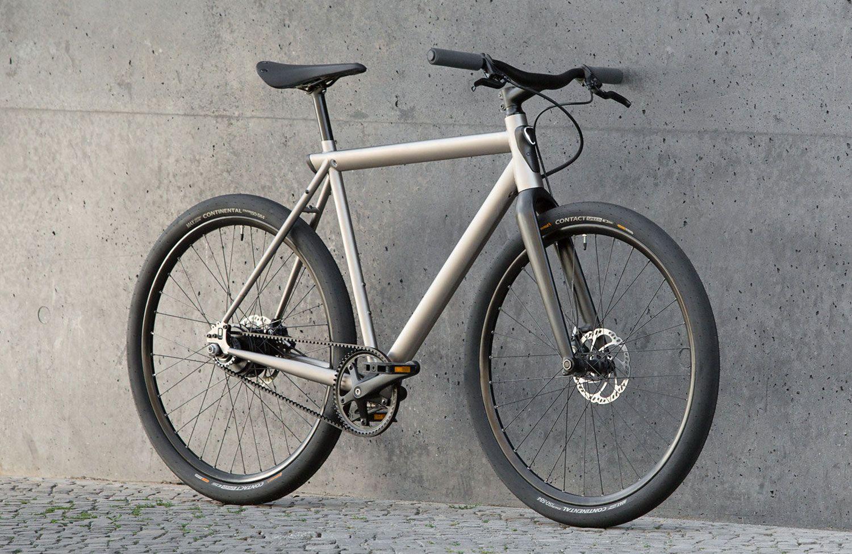 Geos Ein Singlespeed E Bike Mit Stahlrahmen Und Integrierter Beleuchtung Urbanbike News E Bike Stahlrahmen Singlespeeder