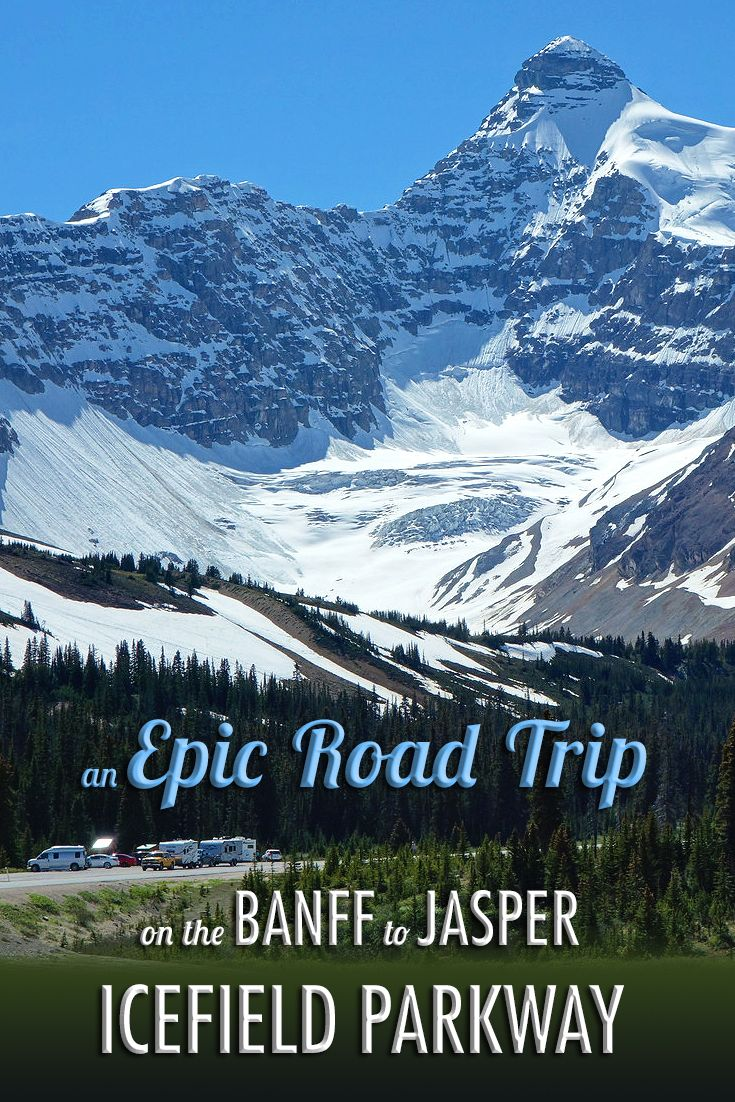 """If there is one road trip that is """"bucket list"""" worthy, a summer drive on Alberta's scenic Icefield Parkway from Banff to Jasper certainly qualifies."""