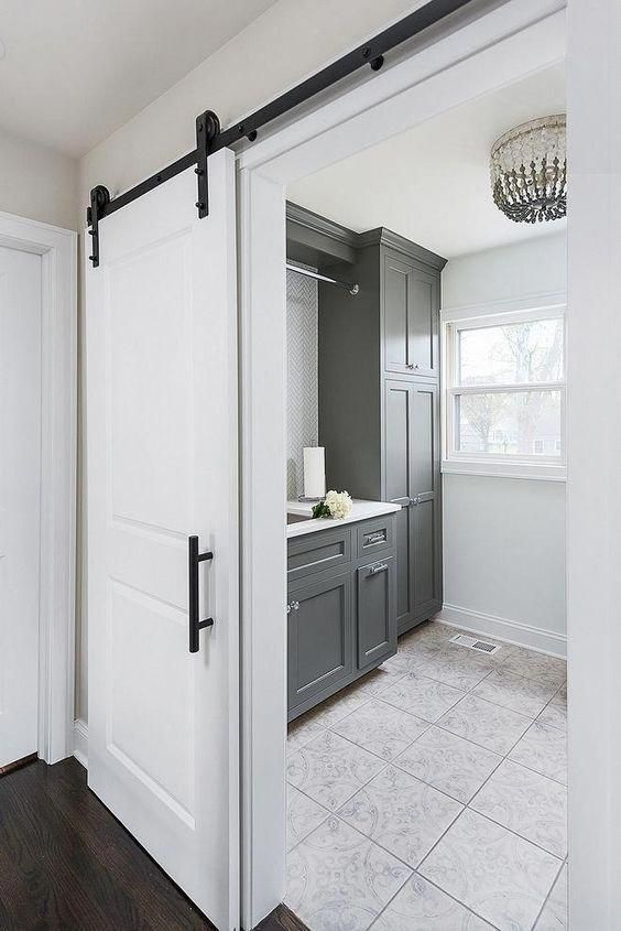Sliding doors are stunning for any interior: they look stylish and modern and are very space-saving. Here are great ideas to rock them #slidingdoor #woodenslidingdoor #Bathroomslidingdoor #livingroom #ideas #kitchendoors