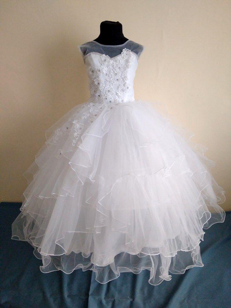 Шикарное пышное платье для вальса eb991dd9fe717