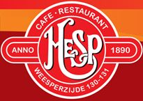 Drankenkaart Café bij Cafe en Restaurant Hesp -at amstel and amstelgracht;  pier, to go, many special beers, etc