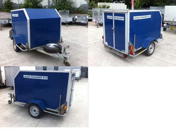 Second Hand Box Van Trailers for Sale Faversham Kent £850 ...