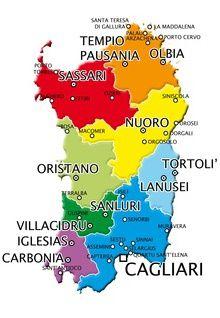 Cartina Di Uta Sardegna.Pin Su Sardegna