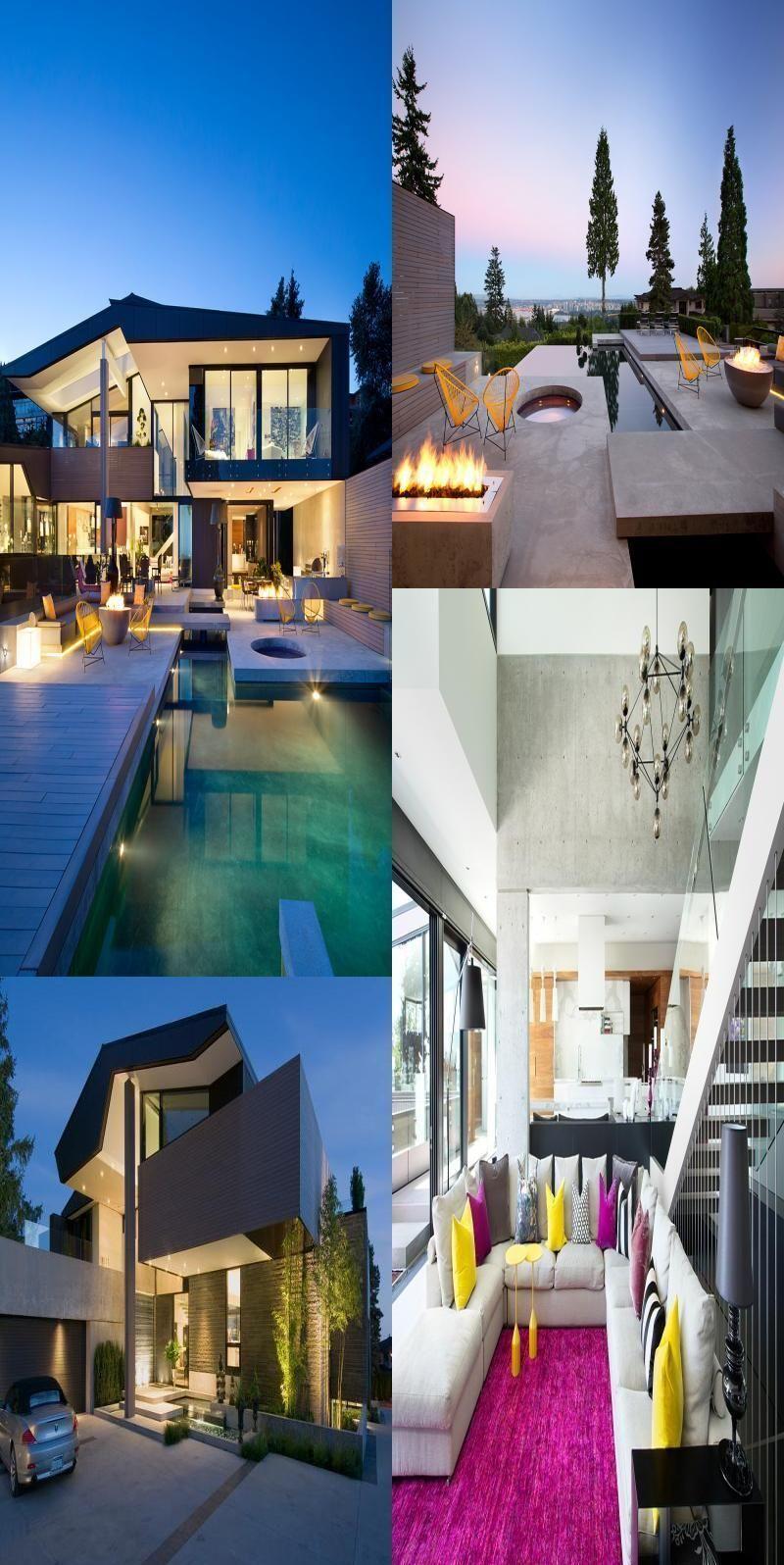 Photo of Modern Villa in Vancouver #Modern #Villa #in #Vancouver # dekoration
