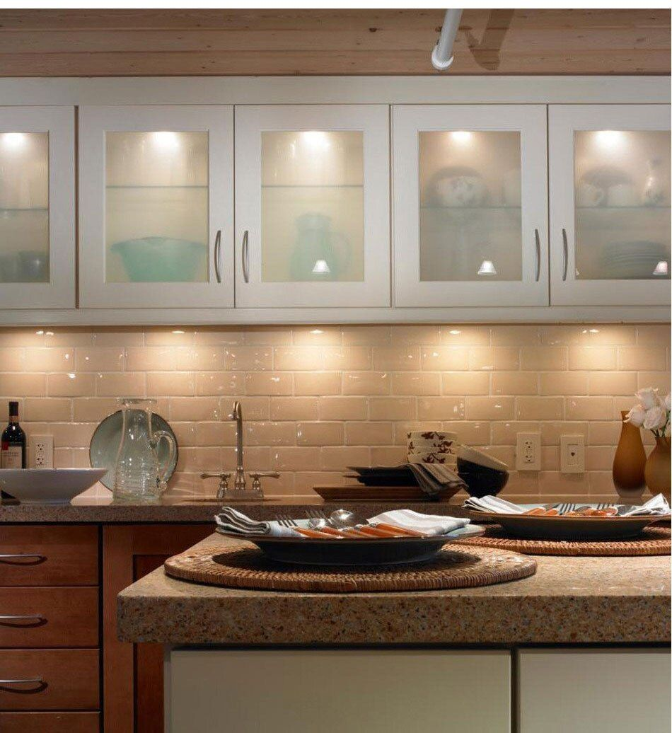 110v 220v Driverless Under Cabinet Lights Kitchen Led Light Closet Cupboard Furniture Shelf Lig Kitchen Remodel Inside Kitchen Cabinets Modern Kitchen Cabinets