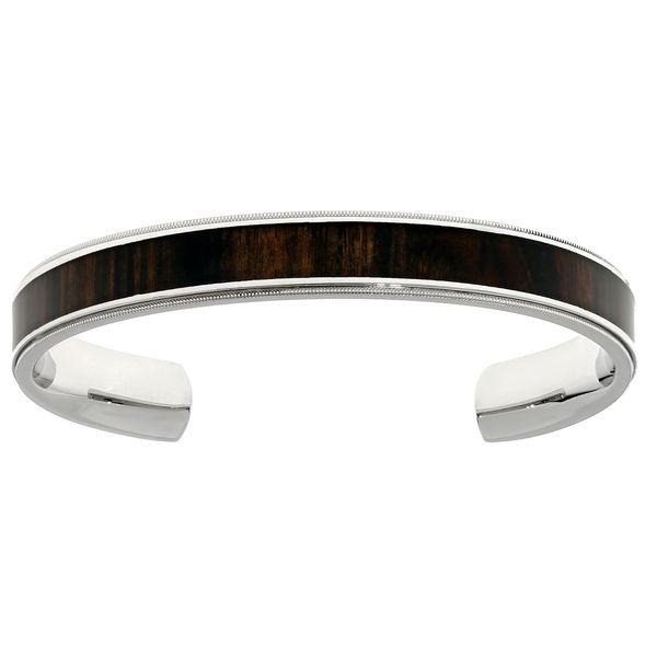 Fine Jewelry Mens Stainless Steel Cuff Bracelet u92RuhZ7v