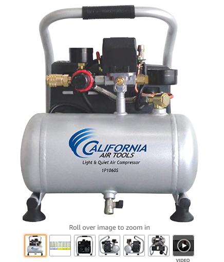 California Air Tools CAT1P1060S Light & Quiet Portable