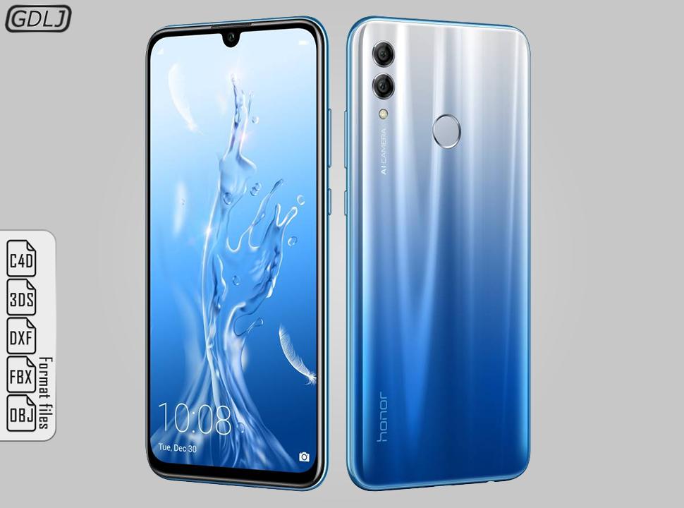 Huawei Honor 10 Lite Sky Blue Honor Huawei Blue Sky Blue Sky Typography Design