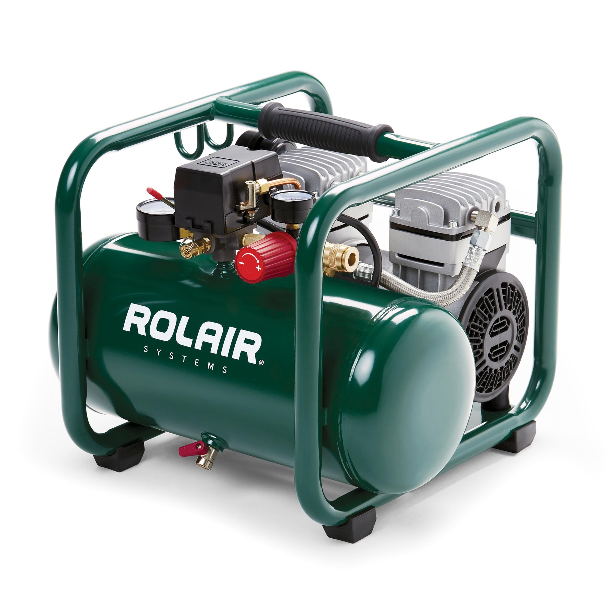 Rolair Systems Rolair JC10PLUS 1 HP, 2.5Gallon Oilless