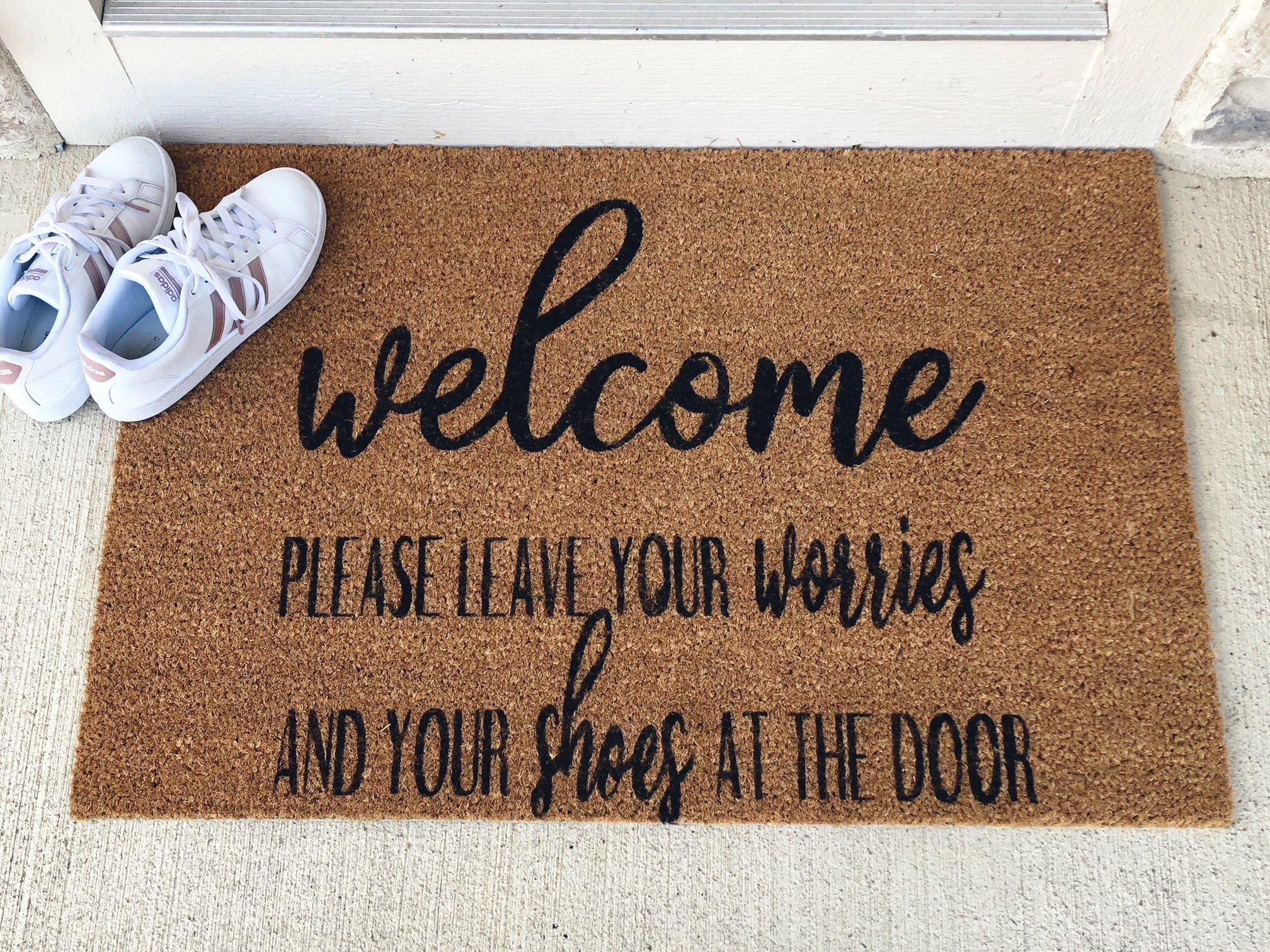 This Item Is Unavailable Etsy Front Door Mats Door Mat Door Signs Diy
